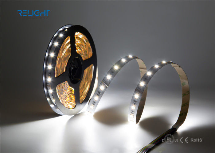 High Capacity SMD 5050 Waterproof LED Strip Lights 5m IP20 / IP65 12V Copper Material