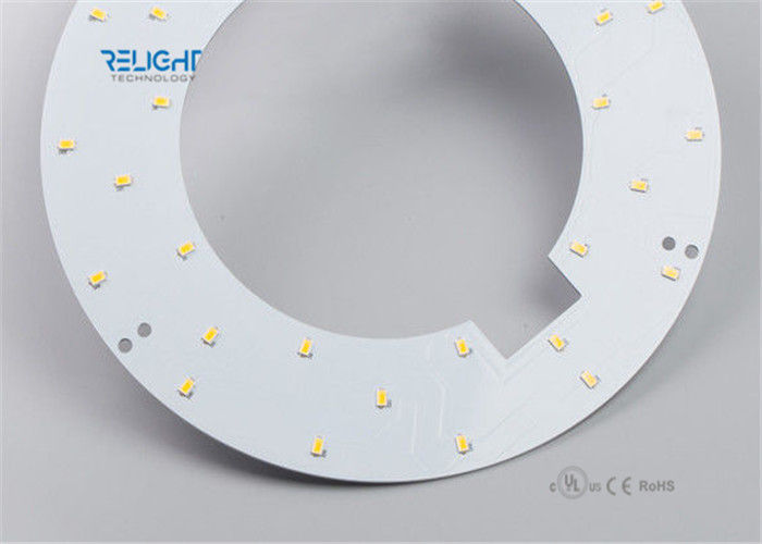 Waterproof Sign LED PCB Module , High CRI LED Module Panel Ring Shape