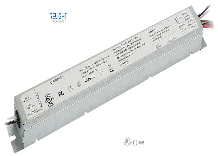 Flicker Free Linear LED Driver LED Module Components for LED Troffer Light , Five Year Warranty