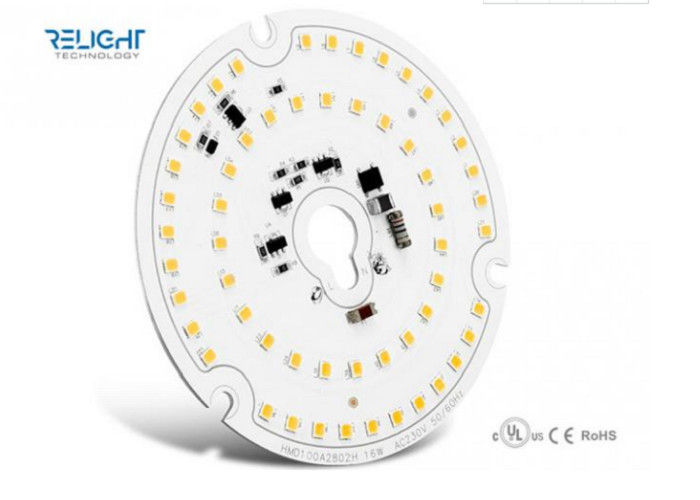 1600LM Efficiency Dimmable Φ100mm With 16W 230V Round AC LED Module